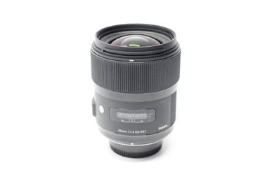 Pre-Owned - Sigma 35mm f/1.4 DG HSM A1 Art Lens For Nikon DSLR Cameras