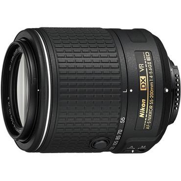 Display - Nikon AF-S DX NIKKOR 55-200mm f/4-5.6G ED VR II Lens