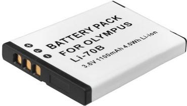 Xit XTLI70B Replacement Battery F/OLYMPUS LI-70B~1100mAh