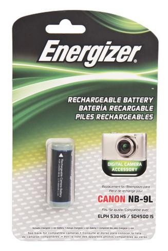 Energizer Digital Camera Battery Canon NB-9L