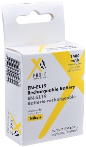 Xit XTENEL19 Replacement Battery for Nikon EN-EL19