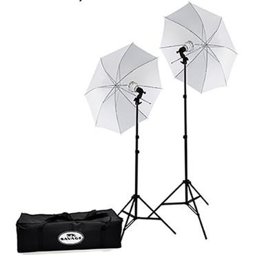 Savage 500W LED Studio Light Kit