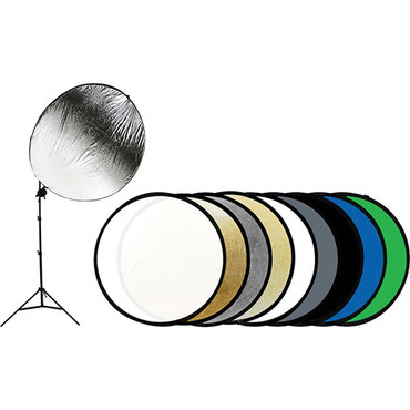 "Savage 43"" 9-in-1 Reflector Kit with Stand"
