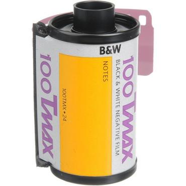 Kodak T-Max 35mm Film 100 24 Exp. (B&W)