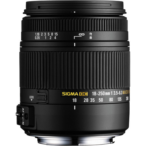 Sigma 18-250mm f/3.5-6.3 DC Macro OS HSM For Pentax