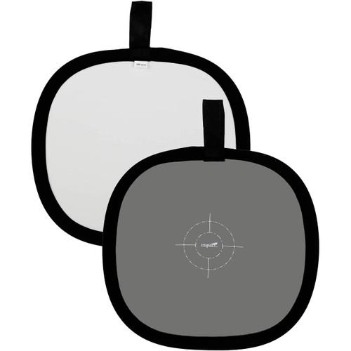"""Lastolite EZ Balance Waterproof Collapsible Light Balancing Disk - Grey, White - 12"""""""