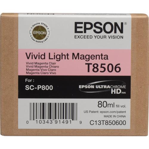 Epson T8506 Ultrachrome HD Vivid Light Magenta for SC-P800