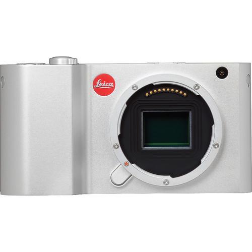 Leica T (Typ 701) Mirrorless Digital Camera Body (Silver)