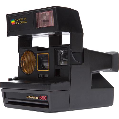 Impossible Polaroid 600 Sun 660 AF Instant Camera