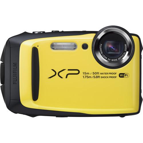 Fujifilm FinePix XP90 Digital Camera (Yellow)