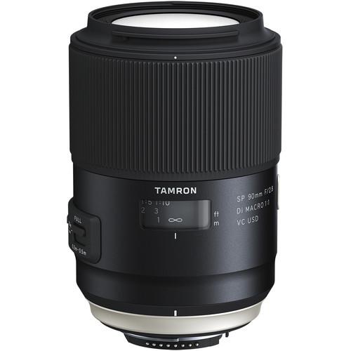 Tamron  SP 90mm f/2.8 Di Macro 1:1 VC USD Lens for Nikon F