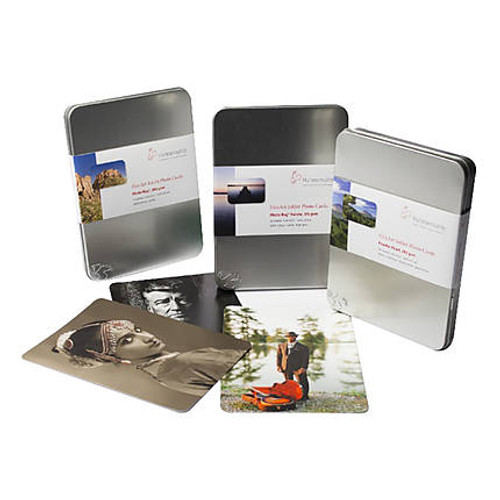 """Hahnemuhle FineArt Photo Rag 308gsm, A5 cards, 5.8""""x8.3"""", 30 Sheet Tin"""