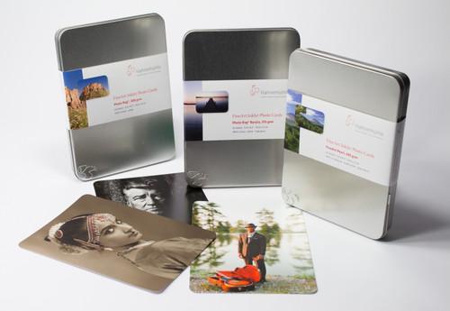 "Hahnemuhle Photo Rag Baryta 315gsm, A5 cards, 5.8""x8.3"", 30 sheet tin"