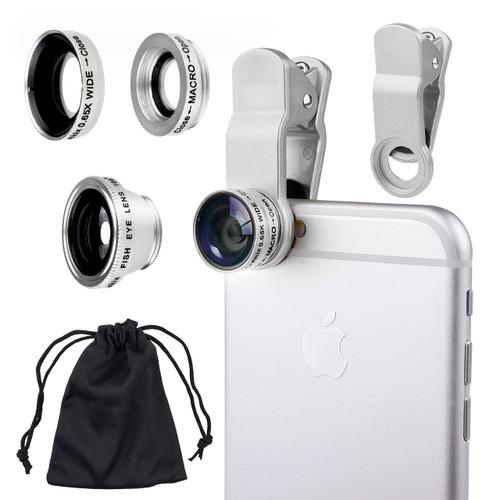 3 in 1 Universal smart phone Clip lens KIt, SP-05