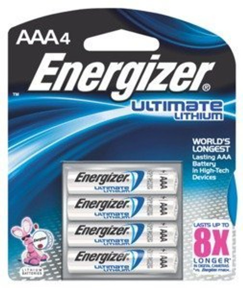 EL92 BP4 AAA-4Pack Lithium Battery