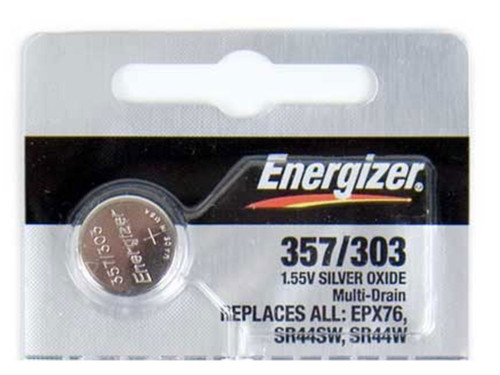 357/303 Silver Oxide Battery