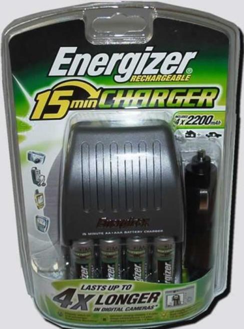 15Min. Charger+4 Batteries 2200Mah