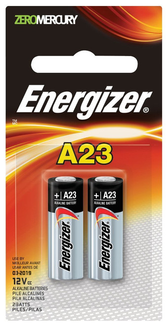Energizer A23BP2 Battery 2 Pack A23