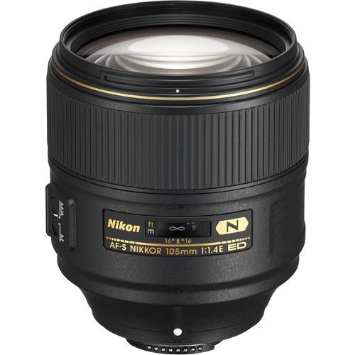 Nikon AF-S FX 105mm f/1.4E ED (ACE52931)