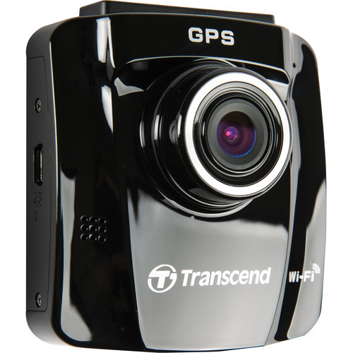 Transcend  DrivePro 220 Wi-Fi Ready Dash Cam with GPS
