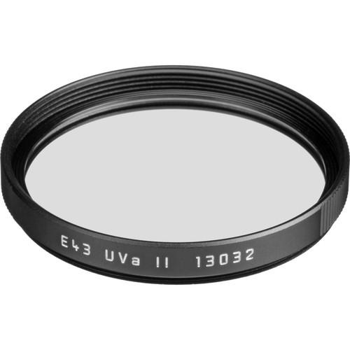 Leica E43 UVa II Filter (Black)