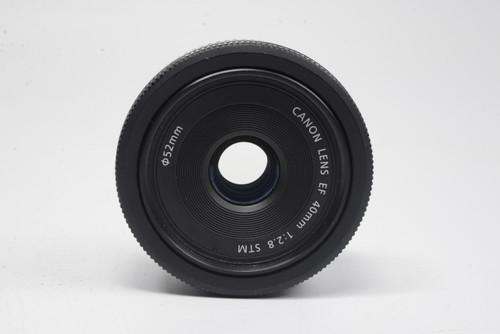 Pre-Owned - Canon EF 40mm f/2.8 STM Pancake Lens