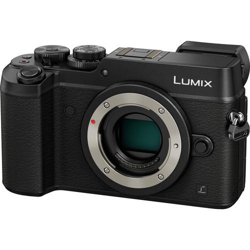Pre-Owned - Panasonic Lumix DMC-GX8 Mirrorless Micro Four Thirds Digital Camera (Body Only, Black)