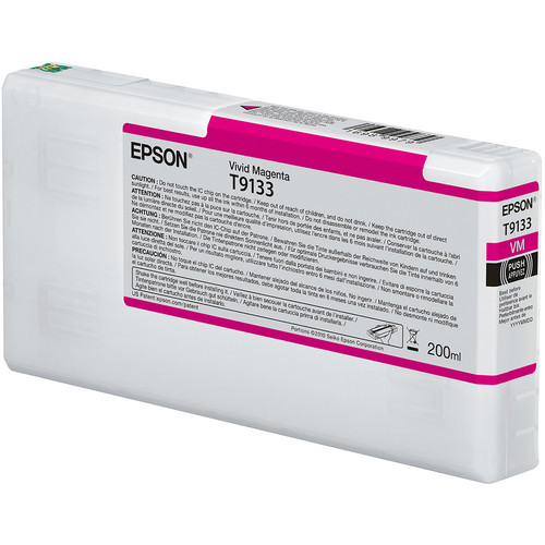 Epson Ultrachrome HD Ink Cartridge 200ml (Vivid Magenta)