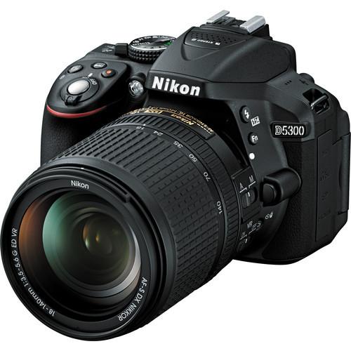 D5300 Kit w/ 18-140mm VR (Black)