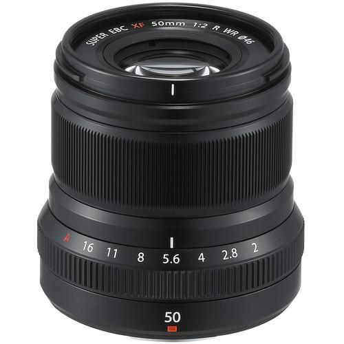 Fujifilm XF 50mm f/2 R WR (Black)
