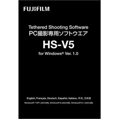 Fujifilm Hyper-Utility 3 Tethered Shooting Software HS-V5 1.1