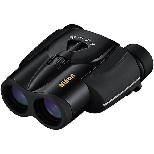 Nikon Aculon 8-24X25mm Zoom Binocular-Black