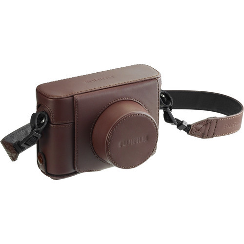 Fujifilm LC-X100F Leather Case (Brown) Fitted Case for X100F
