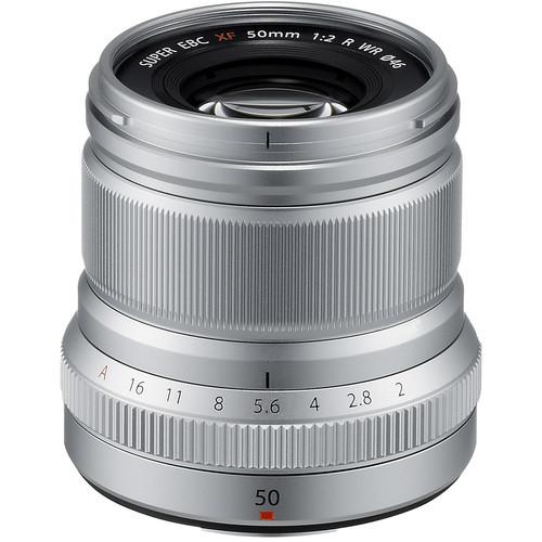 Fujifilm XF 50mm f/2 R WR (Silver)