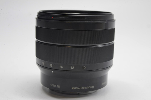 Pre-Owned Sony E 10-18mm f/4 OSS Wide-Angle Zoom Lens