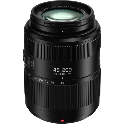 Lumix G Vario 45-200mm f/4-5.6 II POWER O.I.S. Lens