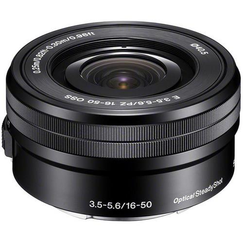 Sony E 16-50mm F/3.5-5.6 OSS PZ Zoom Lens