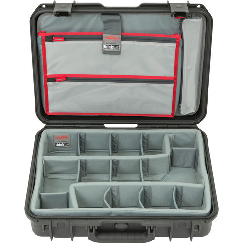 SKB 1813-5 iSeries Case with Think Tank Designed Photo Dividers And Lid