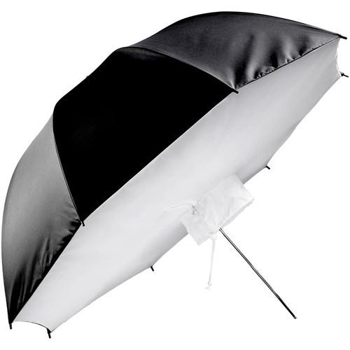 """Savage 43"""" Silver/Black Umbrella"""