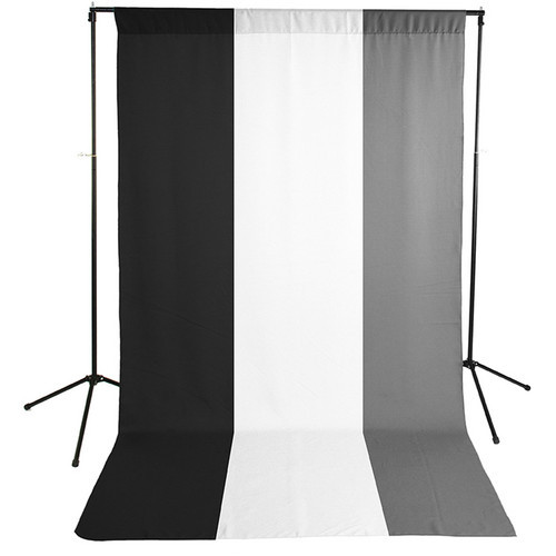 Savage Economy Background Support Stand with White and Black Backdrops