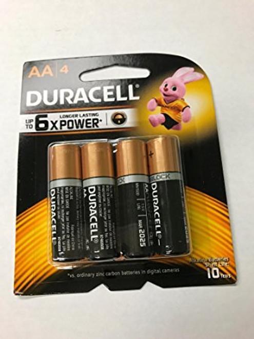 Duracell Duralock AA Batteries (4 Pack)