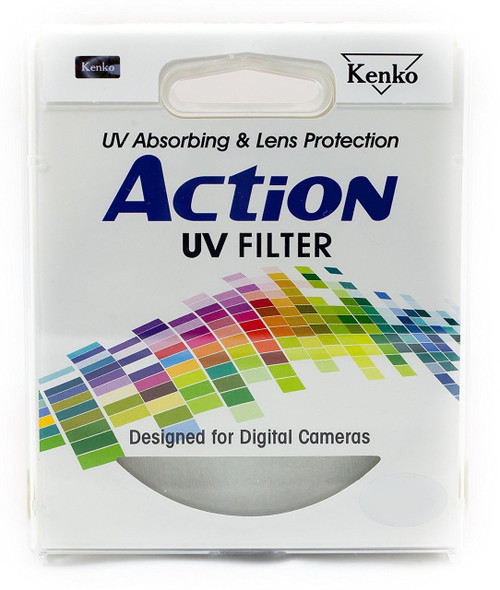 Kenko Action 37mm UV OPTICAL Glass Filter - Designed For Digital Cameras