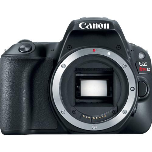 Canon EOS SL2 DSLR Camera (Black, Body Only)