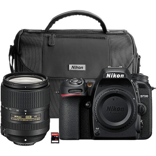 Nikon D7500 DX DSLR w/ 18-300mm VR Lens