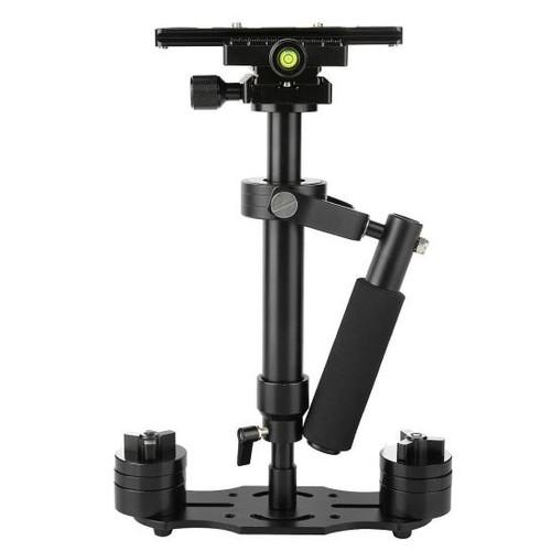 Handheld Stabilizer Pro Version for Camera Video DV DSLR Nikon Canon, Sony, Panasonic (Black)