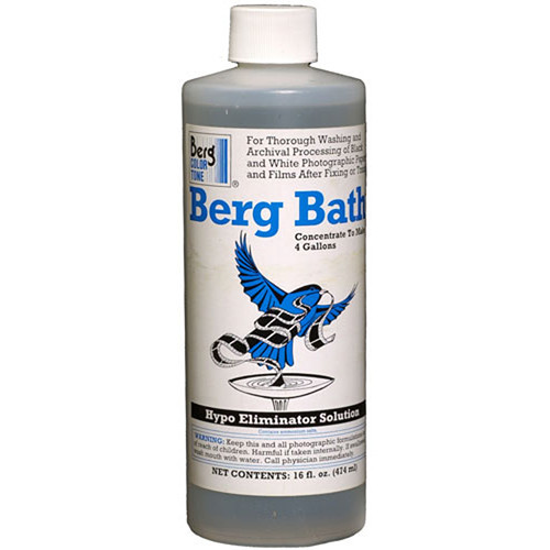 Berg Bath Hypo & Toning Solution Eliminator