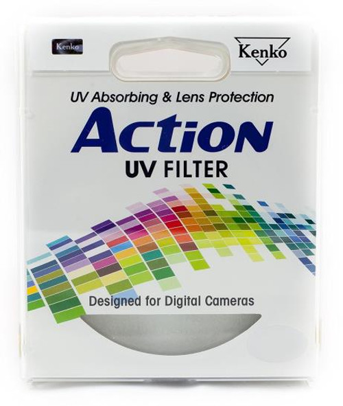 Kenko Action 46mm UV OPTICAL Glass Filter - Designed For Digital Cameras