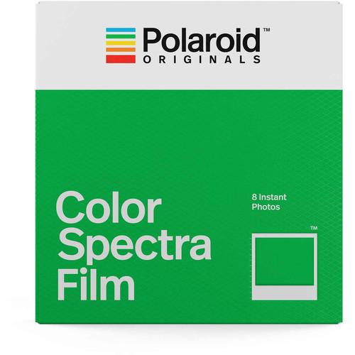 Polaroid Originals Instant Film Color Film for Image/Spectra, White