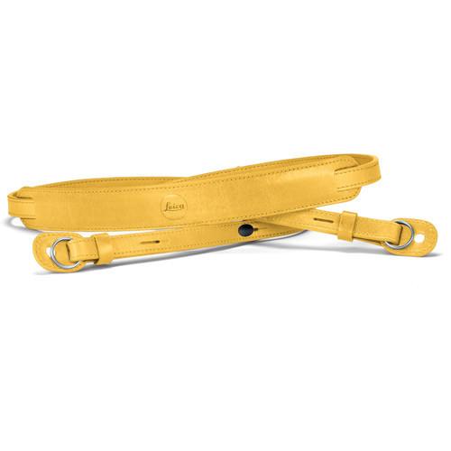 Leica Leather Neck Strap (Yellow)