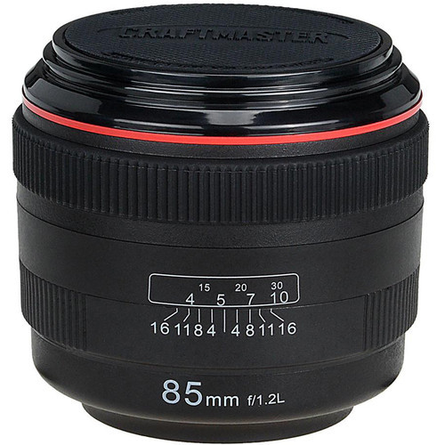 FotodioX LenzCoaster Lens Replica Coaster Set (Black)